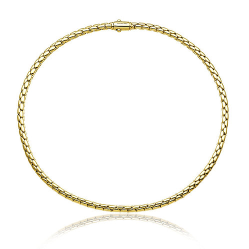 Chimento 0703010 Stretch Spring 18kt Gold Necklace 1G00956ZZ1450