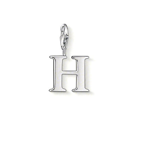 Thomas Sabo 0182-001-12 Letter H Silver Charm 3310182