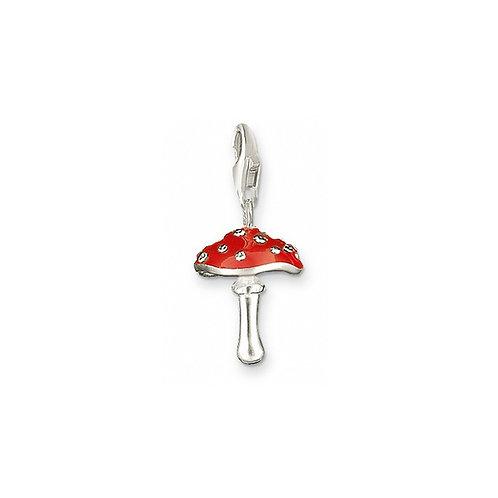 Thomas Sabo 0461 Enamel Mushroom Silver Charm 3310461