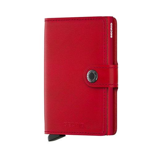 Secrid Miniwallet Original Red-Red 1718113