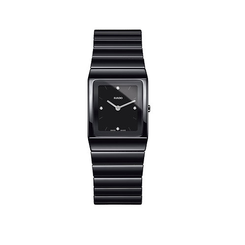 Rado R21702702 Ceramica Ladies Quartz Diamond Dial 6001039