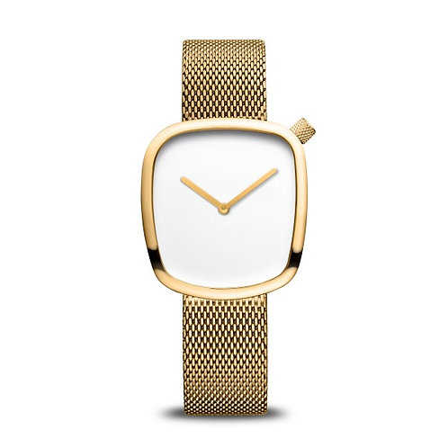 Bering 18034-334 Pebble Classic polished gold Ladies Watch 2901906