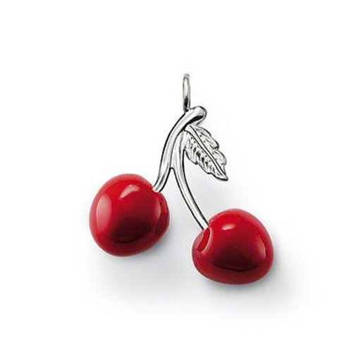 Thomas Sabo PE470-007-10 Sterling Silver Red Cherries Pendant 3301372