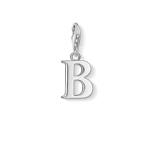 Thomas Sabo 0176-001-12 Letter B Silver Charm 3310176