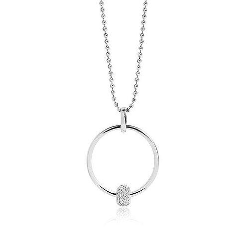 Sif Jakobs P0053-CZ Sterling Silver Necklace 4701040