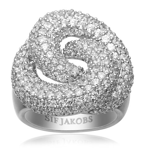 Sif Jakobs R10782-CZ Sterling Silver Ring 4703001