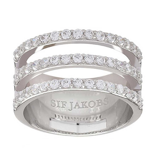 Sif Jakobs R11000-CZ Sterling Silver Ring 4703029