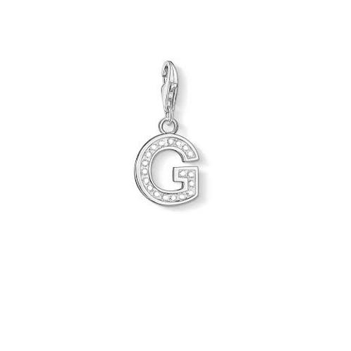 Thomas Sabo 0229-051-14 Letter G Silver Charm 3310229