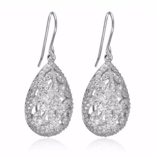 Sif Jakobs E1997-CZ Sterling Silver Earrings 4702003