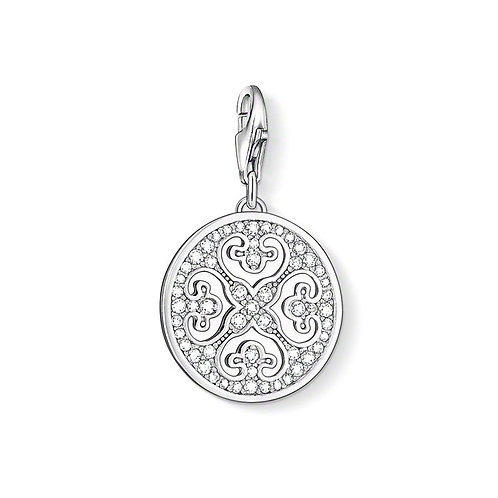 Thomas Sabo 0993-051-14 Arabesque Ornament Silver Charm 3310993