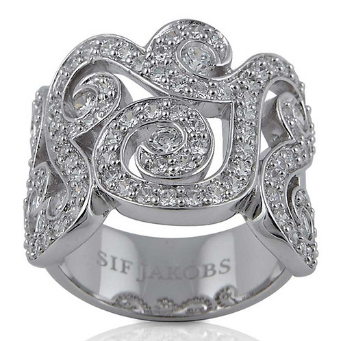 Sif Jakobs R10222-CZ Sterling Silver Ring 4703005