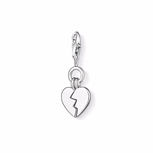 Thomas Sabo 0835-001-12 Broken Heart Charm 3310835