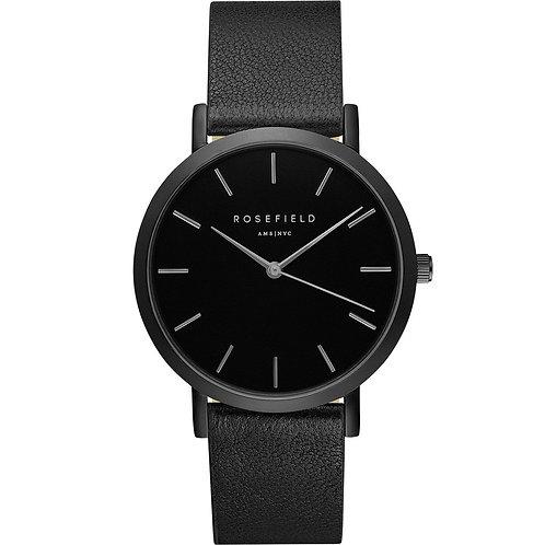Rosefield GBBB-G38 38mm Unisex Black Tone Watch 2908289