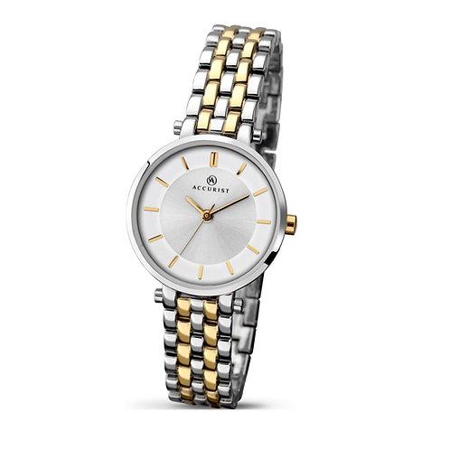 Accurist 8007 Ladies Two Tone Quartz Watch 2701002