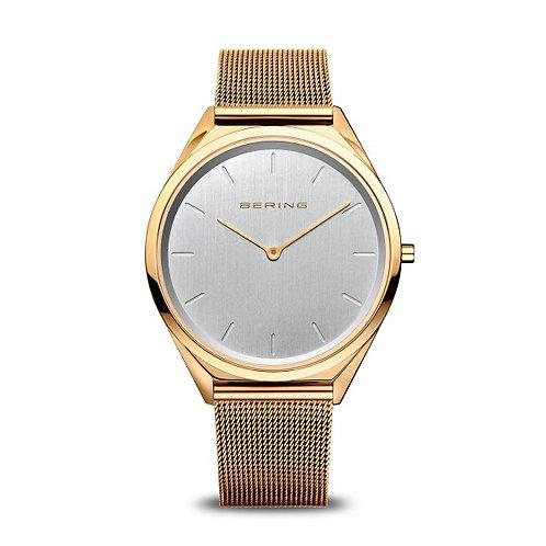 Bering17039-334 Ultra Slim polished goldUnisexWatch 2907071