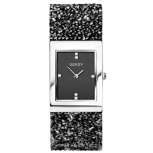 Seksy 2573 Rocks® Rhodium Plated Bracelet Watch 2902291