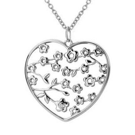 Hot Diamonds DP351 Sterling Silver Heart Pendant 3001143