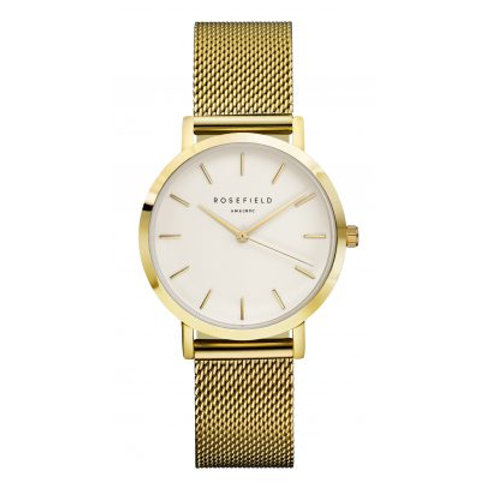 Rosefield TWG-T51 33mm Ladies Yellow Tone Watch 2907045