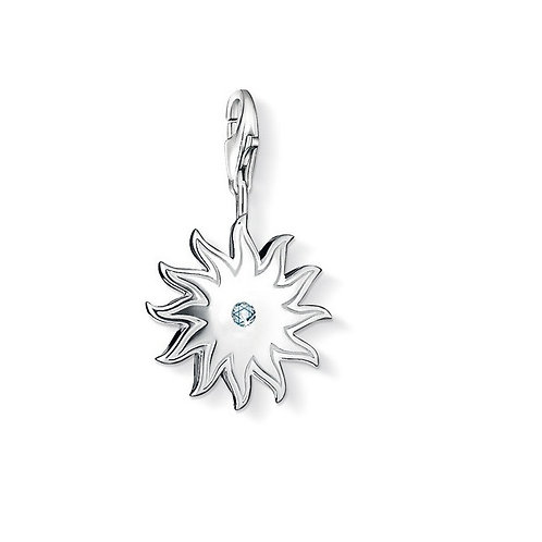 Thomas Sabo DC0016-153-14 Diamond Sun Silver Charm 3320016