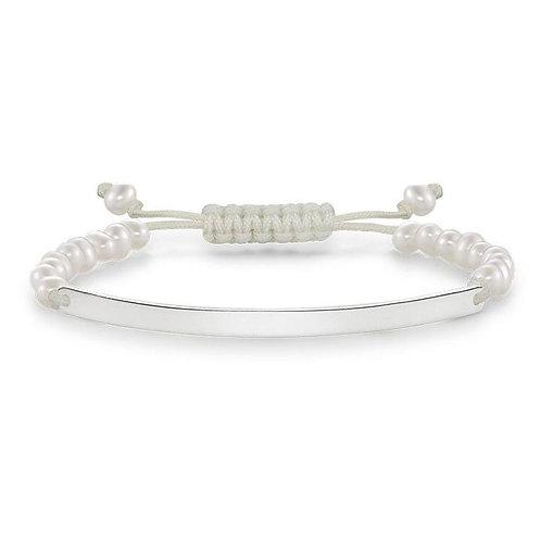 Thomas Sabo LBA0002-170 Silver Stretch Love Bridge Bracelet 3305168
