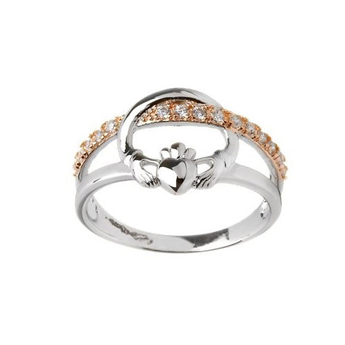 Claddagh sterling silver ring 1403592
