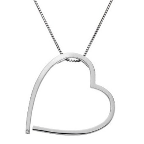 Hot Diamonds DP427 Sterling Silver Heart Pendant 3001166