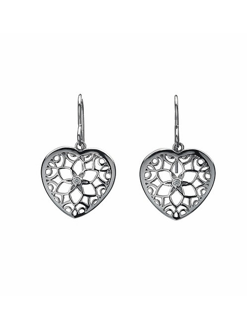 Hot Diamonds DE281 Sterling Silver Levanter Drop Earrings 3002086