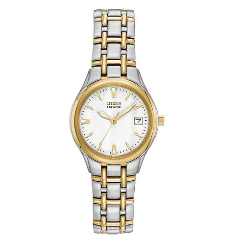Citizen EW1264-50A Ladies Two Tone Eco-Drive Watch 2901856