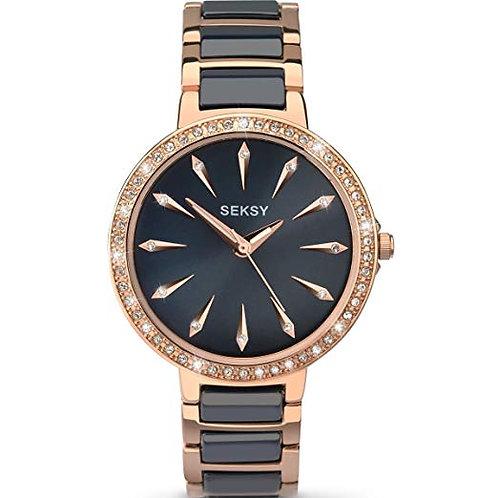 Seksy 2221 Ladies Connected Wrist Watch Navy Blue 2901685