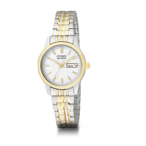 Citizen EW3154-90A Ladies Eco-Drive Expanding Bracelet Watch 2601034