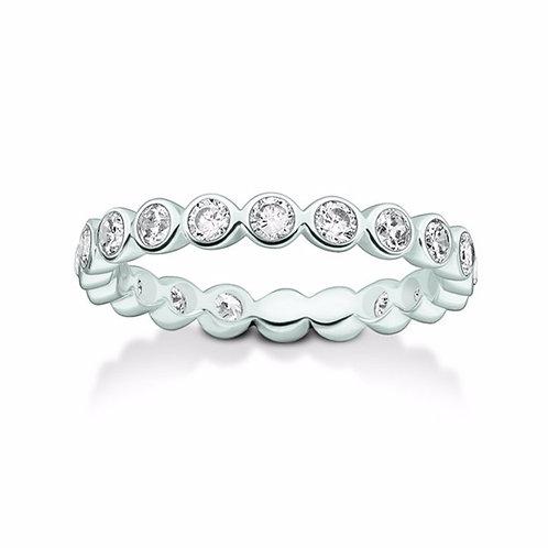 Thomas Sabo TR2110 CZ Sterling Silver Ring 3303280