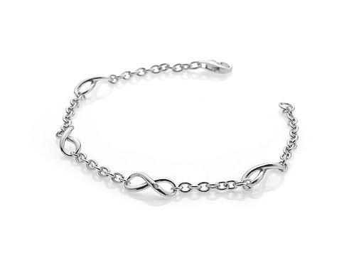 Hot Diamonds DL293 Sterling SilverInfinity Bracelet 3005052