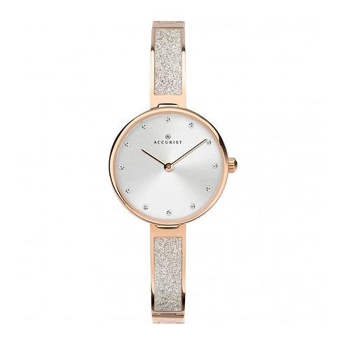Accurist 8215 Ladies Rose Tone Quartz Watch 2701082