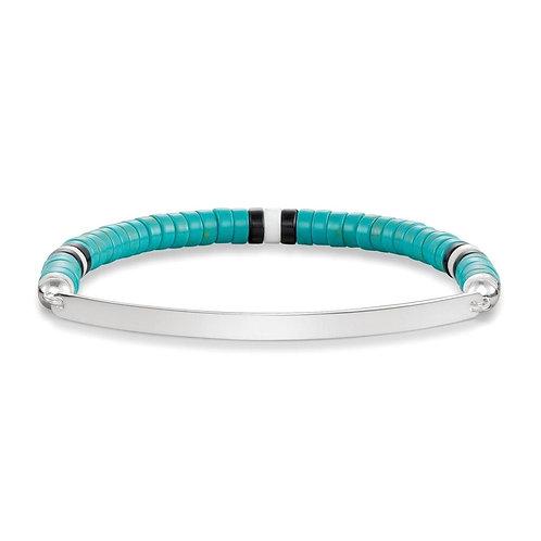 Thomas Sabo LBA0091-885 Silver Stretch Love Bridge Bracelet 3305197