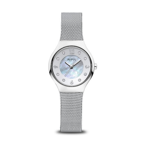 Bering14427-004 Solar polished silver Ladies Watch 2901810
