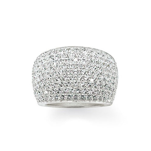 Thomas Sabo TR1872 CZ Sterling Silver Ring 3303166