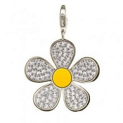 Thomas Sabo T0146-041-4 Sterling Silver Flower Pendant 3301234