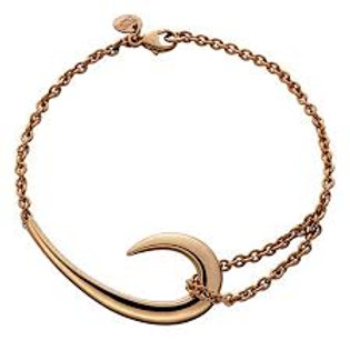 Hook rose gold vermeil Bracelet crafted in sterling silver 1405561