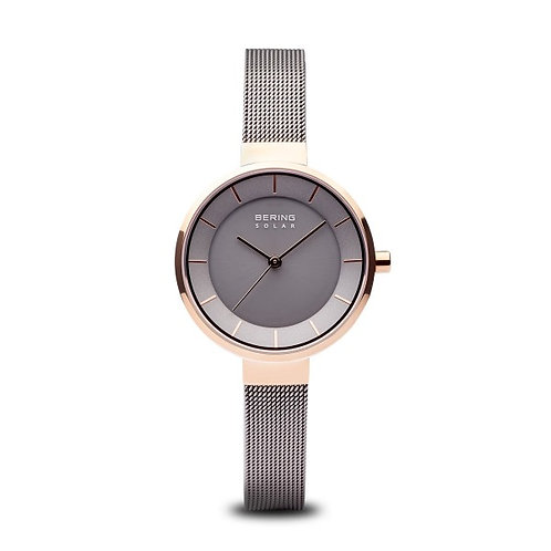 Bering14631-369 Solar polished rose gold Ladies Watch 2901829