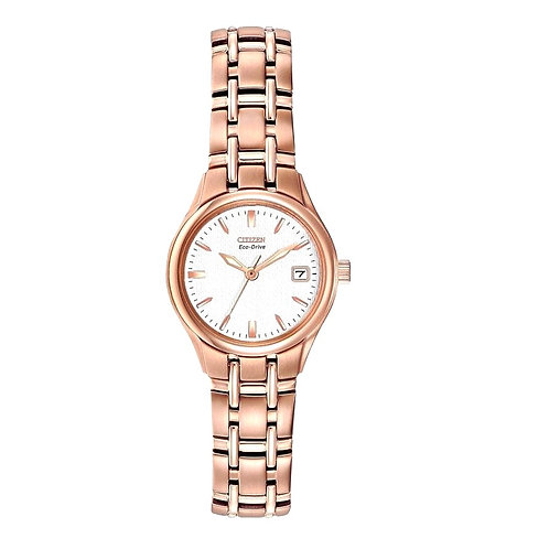 Citizen EW1263-52A Ladies Rose Gold Tone Eco-Drive Watch 2601134