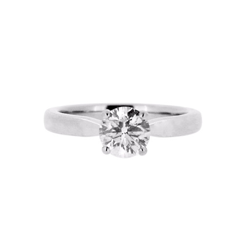 1.00ct Platinum Solitaire Diamond Engagement Ring 0101189