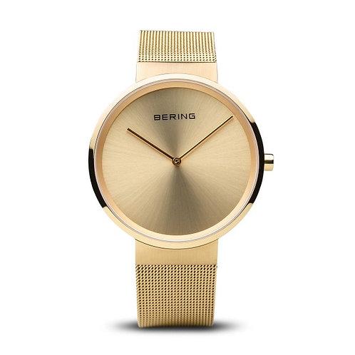 Bering14539-333 Classic polished/brushed gold Unisex Watch 2903335