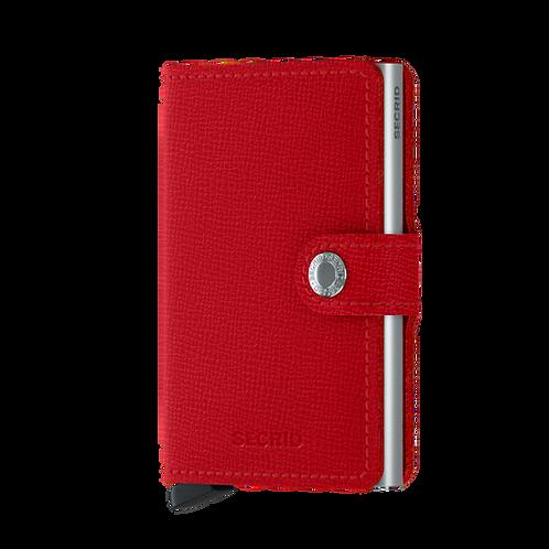 Secrid Miniwallet Crisple Red 1718138