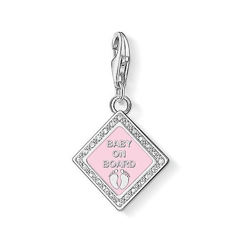 Thomas Sabo 1117 Baby on Board Silver Charm 3321117