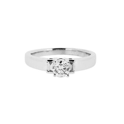 0.50ct Brilliant Cut 18kt Gold Diamond Engagement Ring 0103124