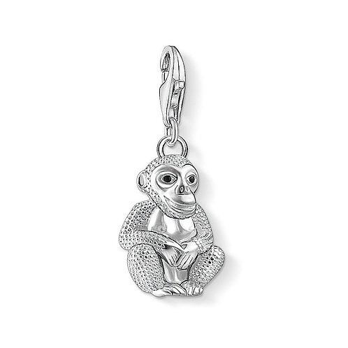Thomas Sabo 1293-007-11 Enamel Monkey Silver Charm 3321293