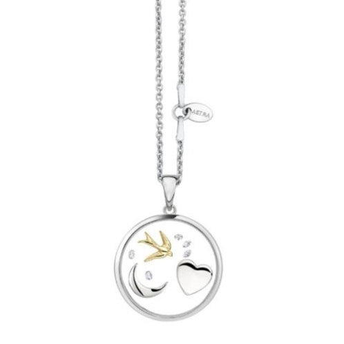 Astra PR5424 ''The Moon and Back'' sterling silver pendant 1421200