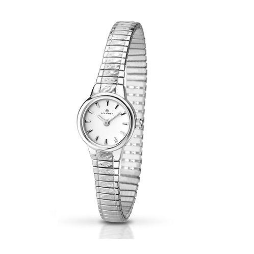 Accurist 8049 Ladies Expanding Silver Tone Quartz Watch 2701029