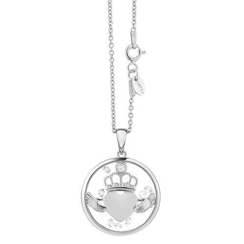 Astra ''Claddagh Heart'' sterling silver pendant 1421255