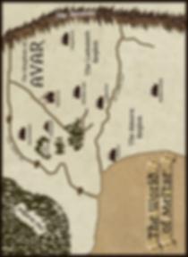 Map of Mel'tar